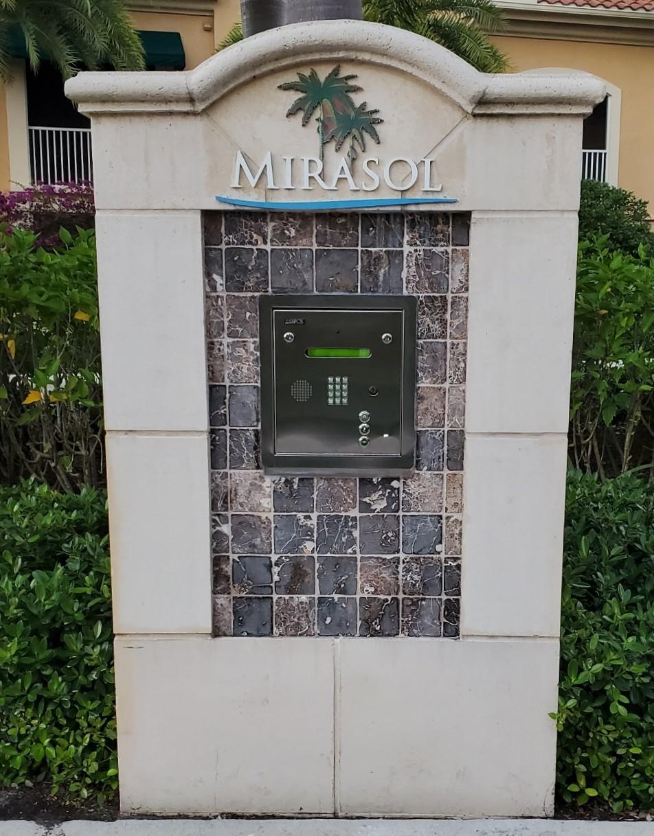 Mirasol call box