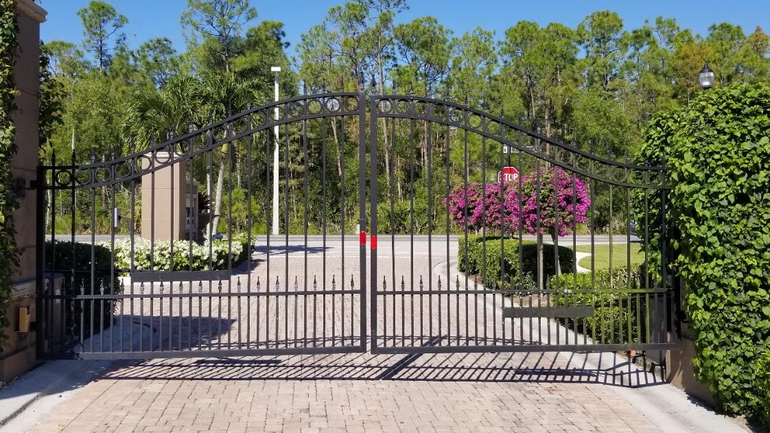 Prestwick gate